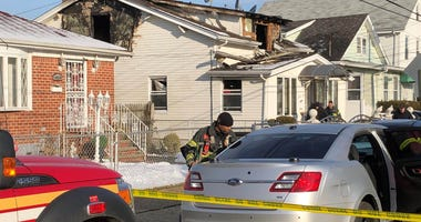 Springfield Gardens home after fire