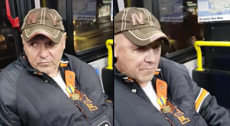 Racist bus rant