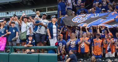 Mets Yankees fans