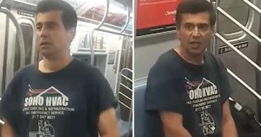 Man yells racial slurs, threatens riders with box cutter on C train