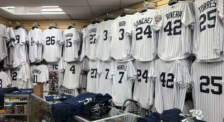 Yankee Shop in the Bronx