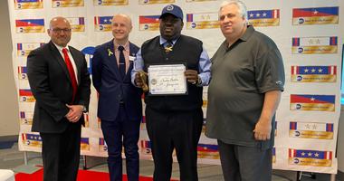 Bus driver Christer Beckford given MTA award