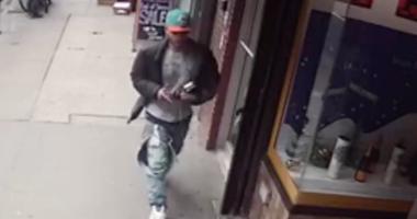 Man pushed down subway stairs