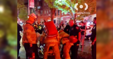 Harlem fire homicide