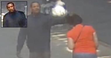 Woman punched at random