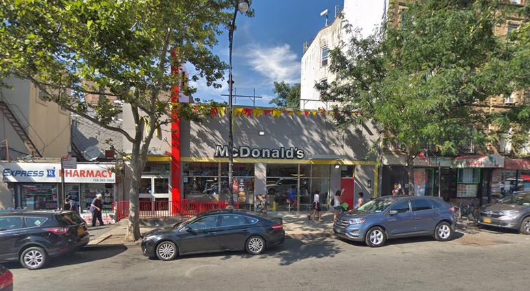 Bronx McDonald's body