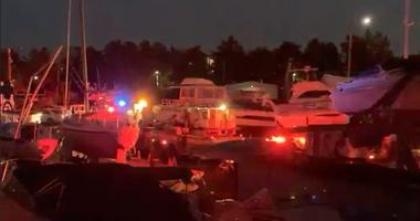 Jet ski collision Bronx