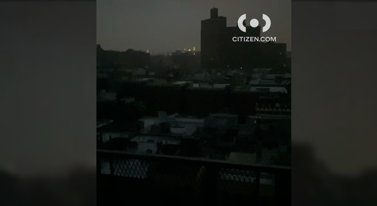 Power outage Manhattan
