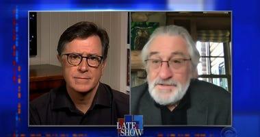 De Niro on Colbert