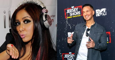 Nicole 'Snooki' Polizzi and Mike 'The Situation' Sorrentino