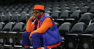 Spike Lee at Madison Square Garden