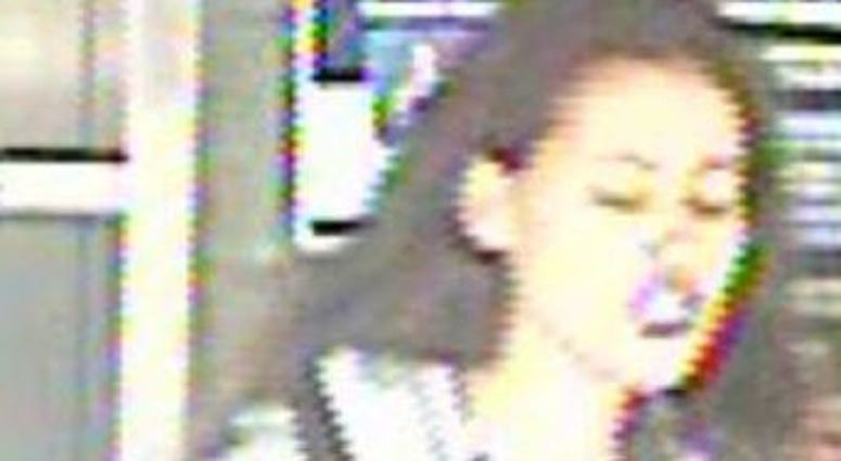 Cops are looking for a woman who attacked a rider on a Manhattan bound 7 train.