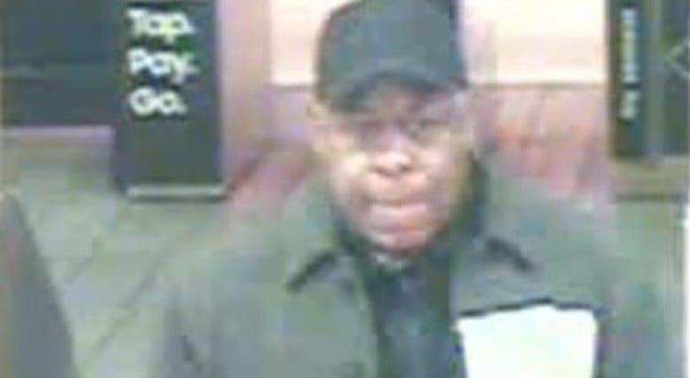 Man entering subway
