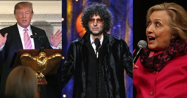 Donald Trump Howard Stern And Hillary Clinton