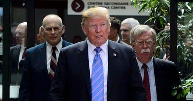 President Donald Trump At G-7