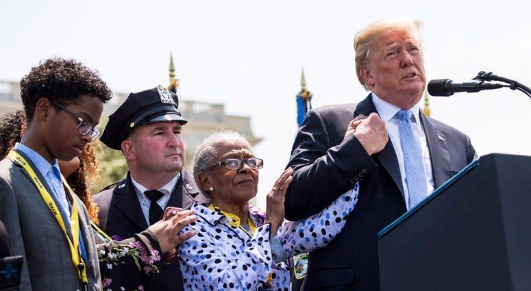 President Donald Trump, Officer Miosotis Familia's Family