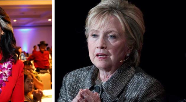 Tulsi Gabbard, Hillary Clinton