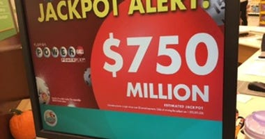 750 million powerball