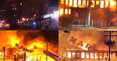 Marcal Paper plant fire