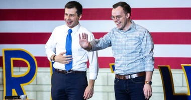 Pete Buttigieg and husband