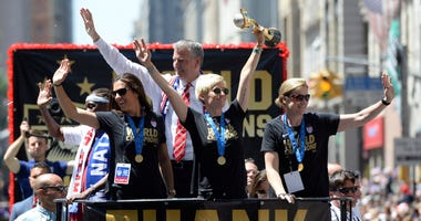 World Cup parade 2015