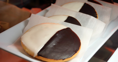black white cookie