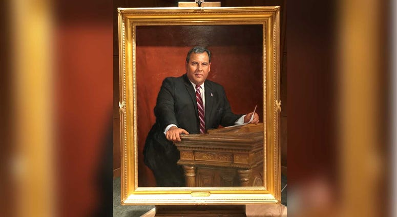 chris christie portrait