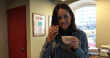 Raquel Lohnann coffee Q grader at Brooklyn Roasting Company