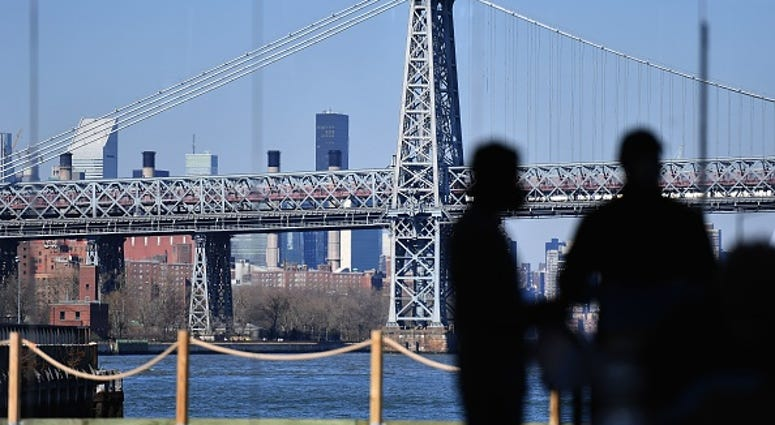 BODY FOUND EAST RIVER