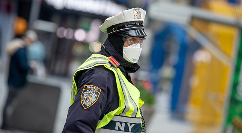 Traffic cop NYPD