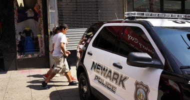Newark Police Car