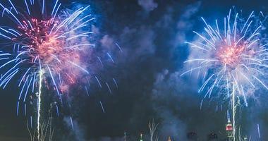 Fireworks nyc
