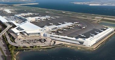 Rendering of new LaGuardia terminal
