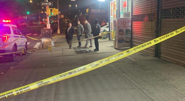 Bronx deli shooting