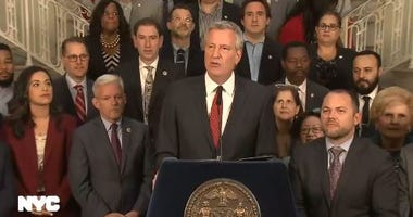 Mayor de Blasio budget
