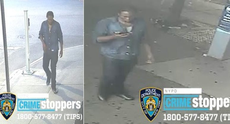 New photos attempted rape suspect