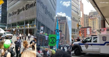 NYPD climate protest
