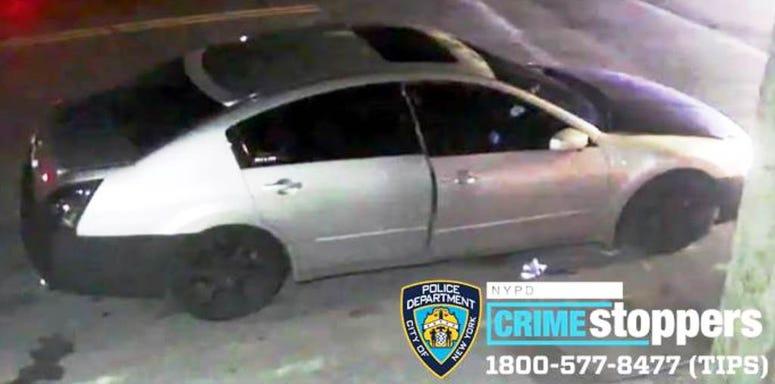 Bronx shooting - car sought