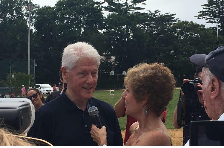 Bill Clinton Juliet Papa