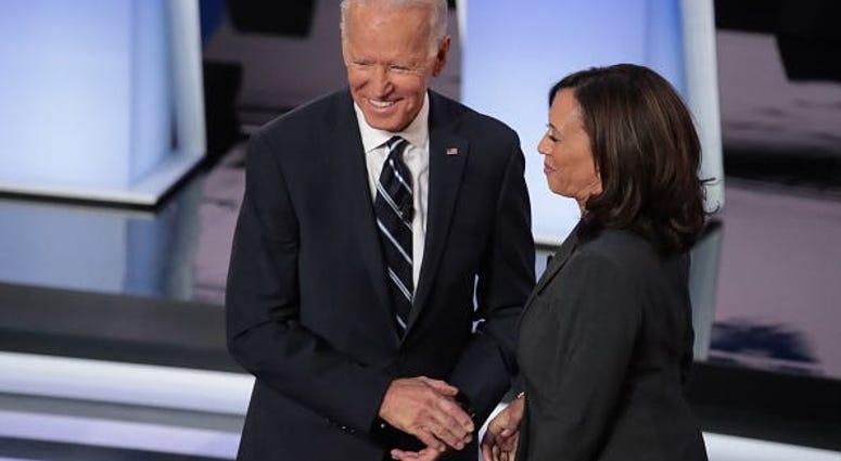 Democratic Debate Joe Biden Calls Kamala Harris Kid 1010 Wins