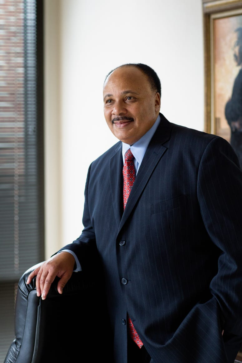 Martin Luther King III Official Photo