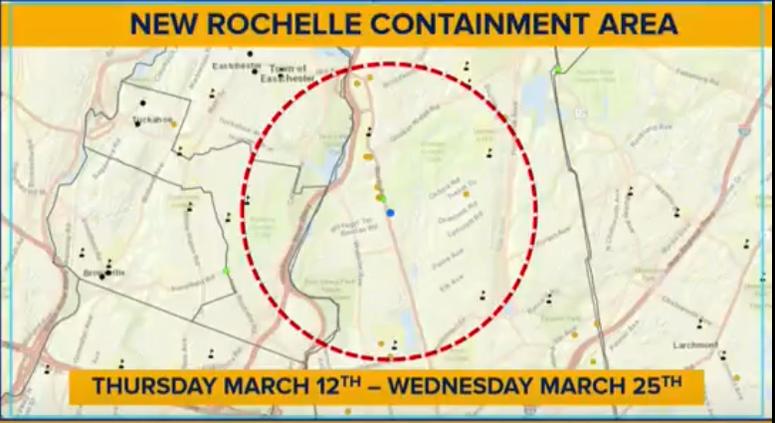 New Rochelle Containment Area