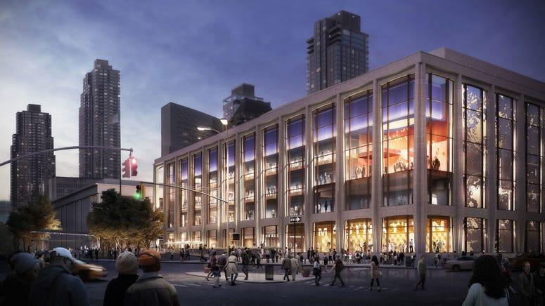 NY Philharmonic renovations