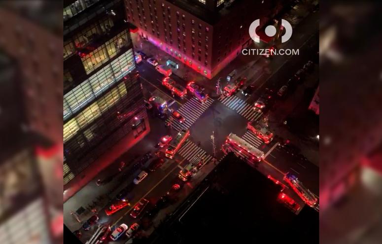 Upper East Side fire
