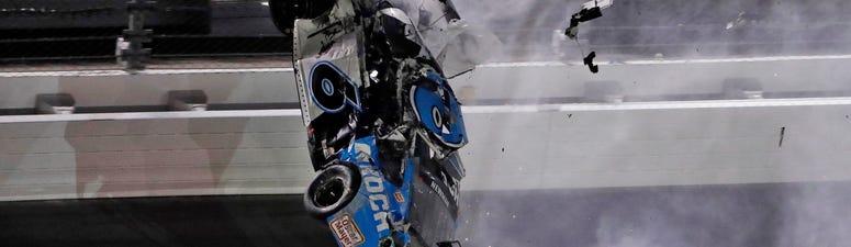 Newman confirms he suffered head injury in Daytona 500 crash