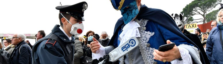 Italy cancels Venice Carnival in bid to contain rapidly rising number of coronavirus cases