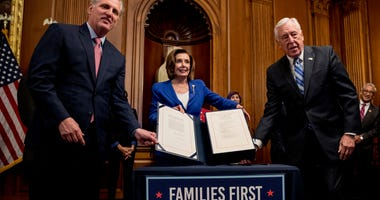 Early divisions as Congress weighs next help for economy