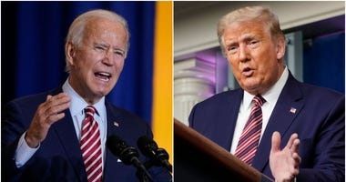 Donald Trump and Joe Biden hit the debate stage tonight — here's how to tune in