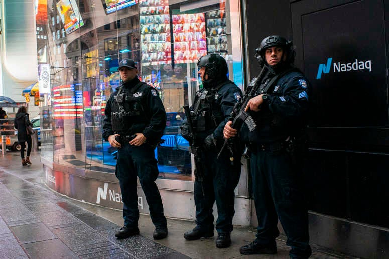 NYPD counterterrorism officers