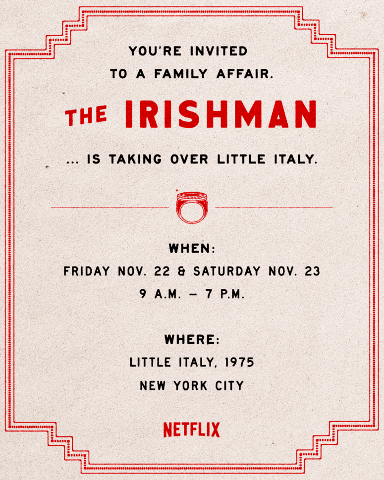 Little Italy turns into 1975 NYC